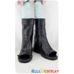 Naruto Cosplay Uzumaki Naruto Black Short Boots