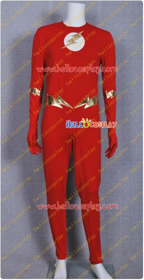 The Flash Barry Allen Jumpsuit Cosplay Costume