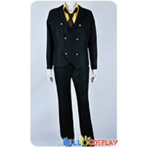 One Piece Cosplay Two Years Later Sanji Suit Costume Short Tie