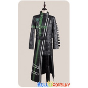 Amnesia Cosplay Kent Kento Costume Black Green Coat Uniform