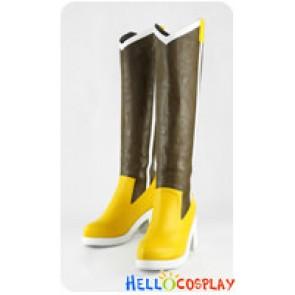 Puella Magi Madoka Magica Cosplay Shoes Mami Tomoe Boots