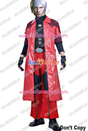 Devil May Cry 4 Special Edition DMC Cosplay Dante Costume
