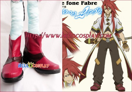 Tales Of The Abyss Cosplay Luke Fon Fabre Shoes
