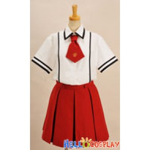 Baka to Test to Shokanju Cosplay Girl Summer Uniform