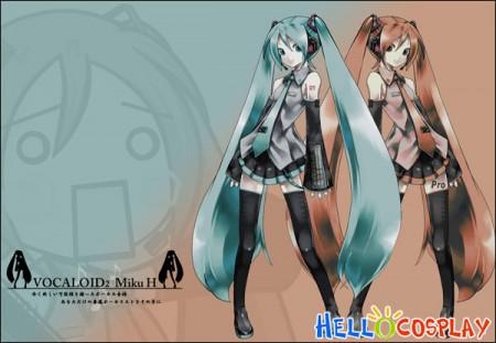 Vocaloid 2 Cosplay Hatsune Miku Costume