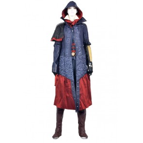 Assassins Creed Syndicate Cosplay Dame Evie Frye Costume