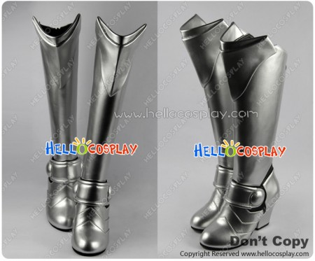 Fate Unlimited Codes Cosplay Saber Lily Silver Boots