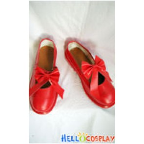 Cardcaptor Sakura Sakura Cosplay Shoes Red