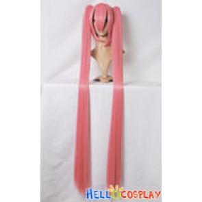 Vocaloid 2 Hatsune Miku Dark Pink Cosplay Wig Ponytail Wig