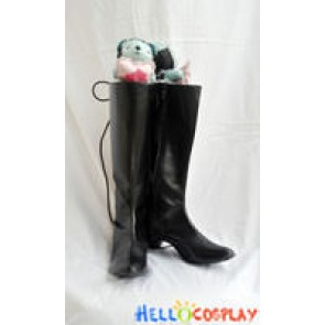 Black Butler Cosplay Ciel Phantomhive Black Boots