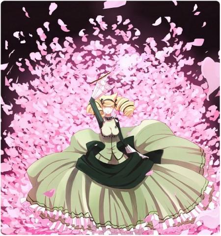 Otome Yokai Zakuro Cosplay Bonbori Hozuki Evening Dress