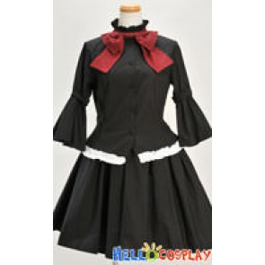K-On Mio Akiyama Cosplay Costume Dress