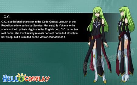 Code Geass R2 Cosplay C.C Boots