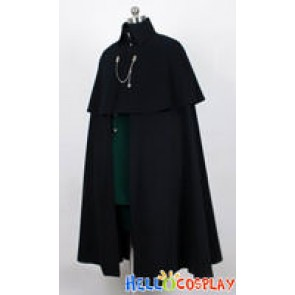 Black Butler Cosplay Ciel Phantomhive Outfit Cape