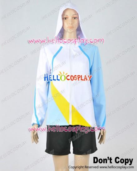 Free Iwatobi Swim Club Cosplay Haruka Nanase Sportswear Suit Costume