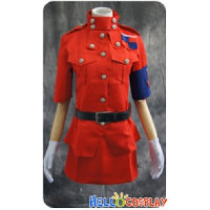 Hellsing Cosplay Seras Victoria Red Uniform Costume