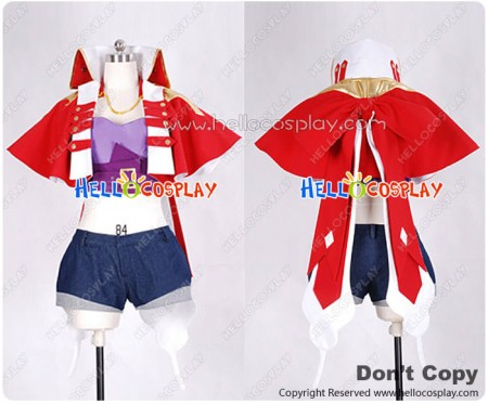 Macross Frontier Cosplay Sheryl Nome Movie Edition Costume