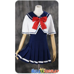 Vocaloid 2 Cosplay Hatsune Miku School Girl Uniform Costume