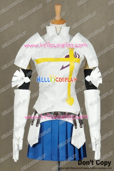 Fairy Tail Cosplay Erza Scarlet Costume Combat Uniform