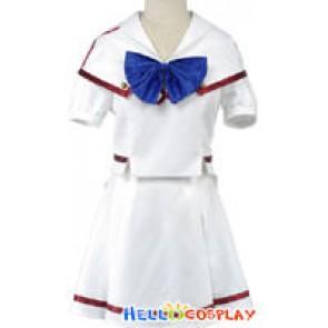Macross Frontier Ranka Lee Cosplay Costume Uniform