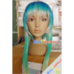 Vocaloid Cosplay Gumi Pink Green Wig