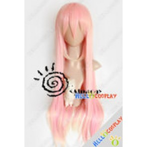 Vocaloid Cosplay Megurine Luka Pink Long Wig
