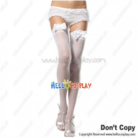 Lolita Cosplay Lace Butterfly Stockings Socks