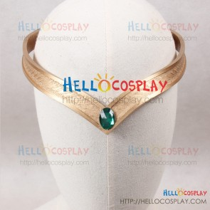 Sailor Moon Cosplay Sailor Neptune Headwear Headdress Green
