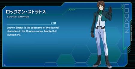 Gundam 00 Lockon Stratos Cosplay Costume