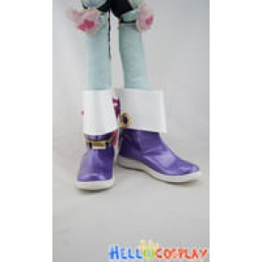 Tales of Graces Cosplay Shoes Sophie Purple Shoes