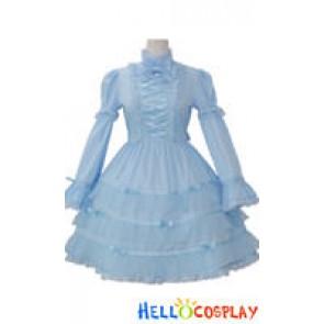 Lolita Costumes Black/Blue/Pink/White