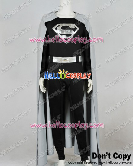 Superman Man of Steel Cark Kent Cosplay Costume