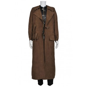 Harry Potter Costume Alastor Moody Mad-Eye Trench Coat Vest