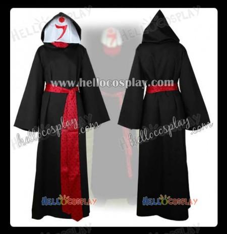 Mabinogi Cosplay Wizard Costume Black Robe