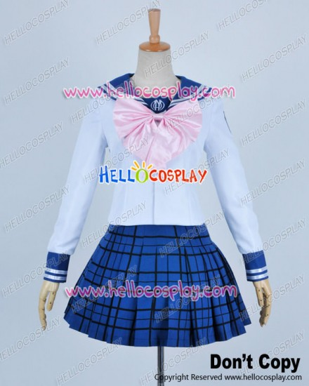 Danganronpa Dangan Ronpa Cosplay Sayaka Maizono Costume Girl Uniform
