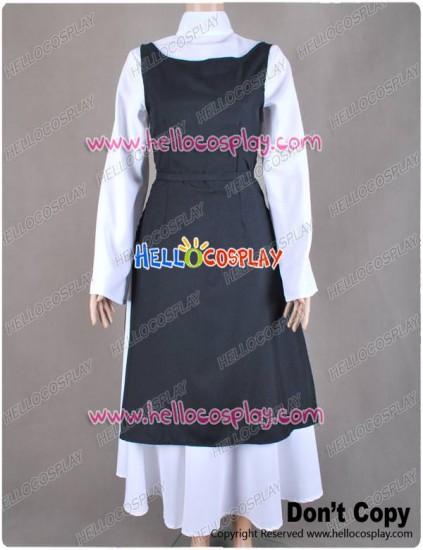 Vocaloid Rin Kagamine Cosplay Costume Monastery Dress