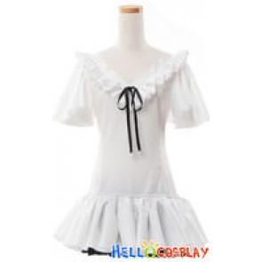 Vocaloid 2 Cosplay Hatsune Miku White Dress