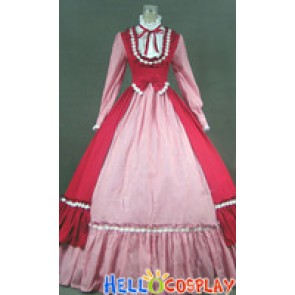 Victorian Gothic Lolita Ball Gown Prom Steampunk Dress