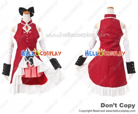 Puella Magi Madoka Magica Cosplay Kyoko Sakura Costume Full Set