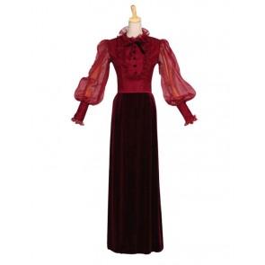Victorian Lolita Classic Edwardian Stage Gothic Lolita Dress