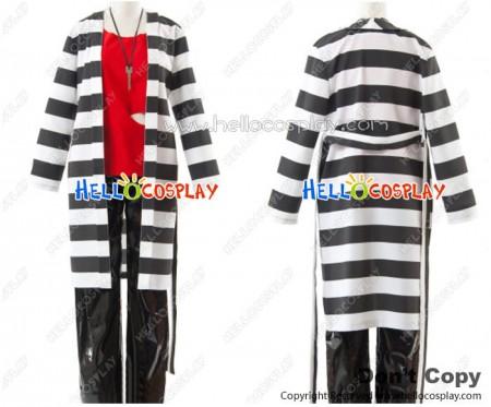 Lucky Dog 1 Cosplay Giulio Di Bondone Prisoner Costume PU Pants Ver