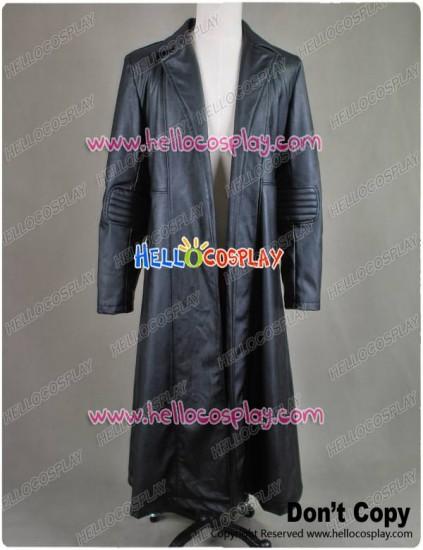 Blade: Trinity Wesley Snipes Black Leather Coat Costume