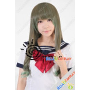 Fate Stay Night Cosplay Tohsaka Aoi Green Wig