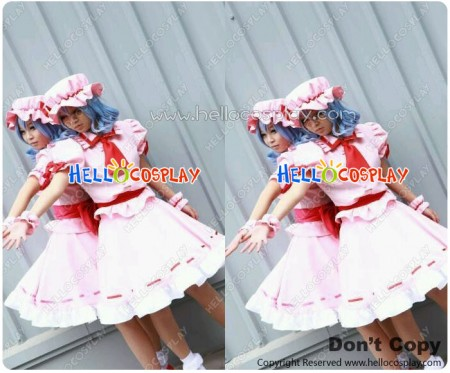 The Embodiment Of Scarlet Devil Cosplay Remilia Scarlet Costume
