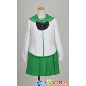 Highschool Of The Dead Cosplay School Girl Uniform