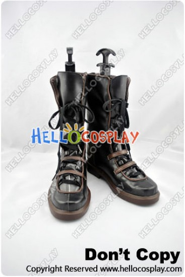 Chrome Shelled Regios Cosplay Haia Salinban Lyia Boots