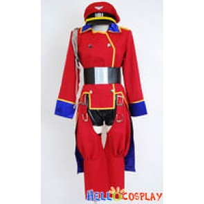 Macross Frontier Cosplay Sheryl Nome Concert Red Costume
