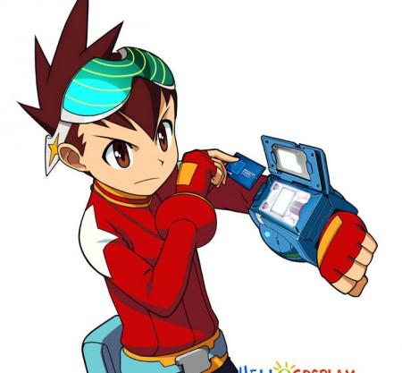 Mega Man Cosplay Rockman Glasses