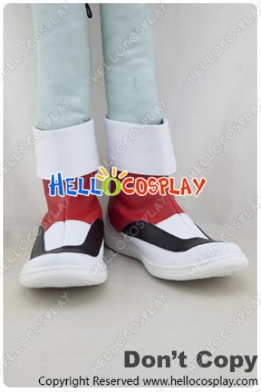 Pokémon Pokemon Cosplay Crystal Red White Shoes