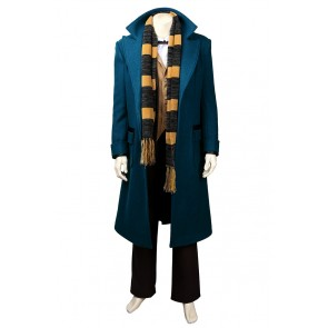 Fantastic Beasts and Where to Find Them Newt Scamander Cosplay Costume Uniform